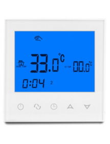 White Digital thermostat...